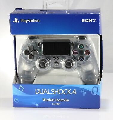 Sony DualShock 4 Wireless Controller -CRYSTAL Edition [CLEAR] NEWEST! VERY RARE!