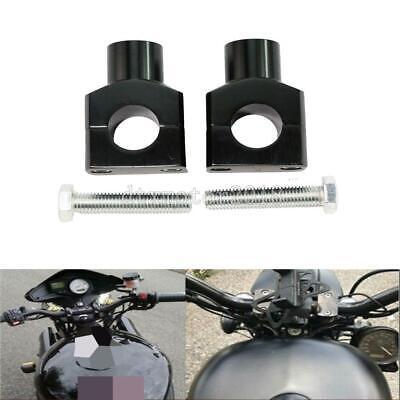 "Pair 1/"" Handlebar Riser Extension 2/"" Rise For Harley XL 1200X Forty-Eight 10-17"