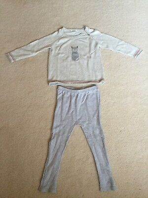 Pre-loved PureBaby Top & Bottom, Size 2