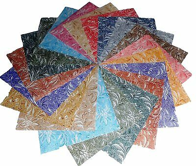 """17 10"""" Quilting LAYER CAKE Beautiful Whisper Textureds BUY IT NOW !!!!"""