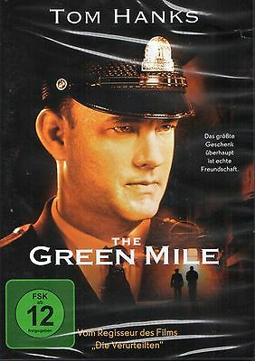 The Green Mile - Tom Hanks, DVD, NEU