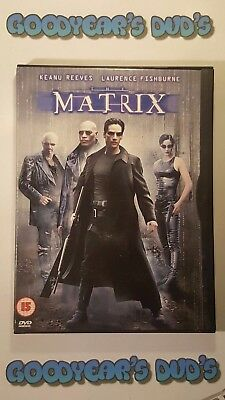 The Matrix ( Keanu Reeves Laurence Fishburne ) Region 2 DVD