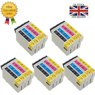 5 Sets Ink Cartridges for Epson SX415 SX510W SX515W S21 DX4000 SX610FW SX215