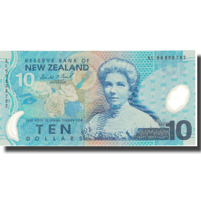 [#576306] Banknote, New Zealand, 10 Dollars, 1999, 1999, KM:186a, UNC(65-70)