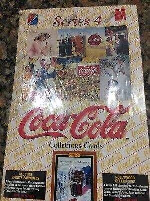 New-Sealed- Coca Cola Series 4 Collector Cards Box Set