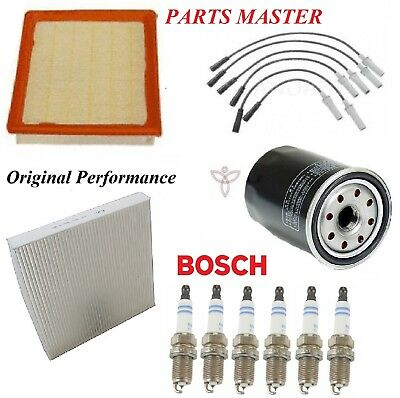Tune Up Kit Filters Spark Plugs For CHRYSLER TOWN & COUNTRY V6; 3.8L 2008-2009