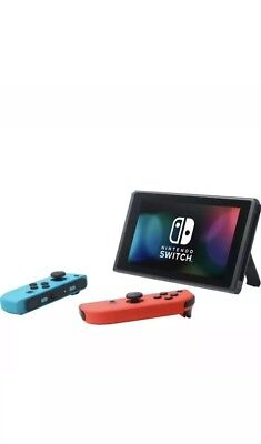 Nintendo Switch 32 GB with Neon Blue and Neon Red Joy-Con- Brand New!