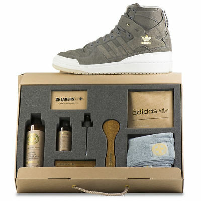 ec1818ae249 Adidas Forum HI Crafted Pack Shoes   Cleaning KIT BW1253 Size 11 US NEW  With BOX