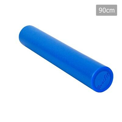 Everfit 90 x 15cm Yoga Gym Pilates EPE Stick Foam Roller - Blue