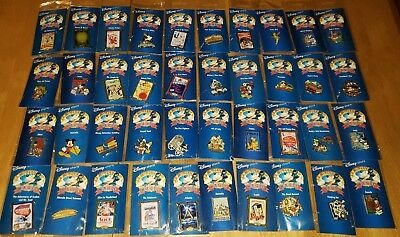 Disney Store Mickey Mouse 12 Months Of Magic Pins - Retired - Lot Of 40 New Pins