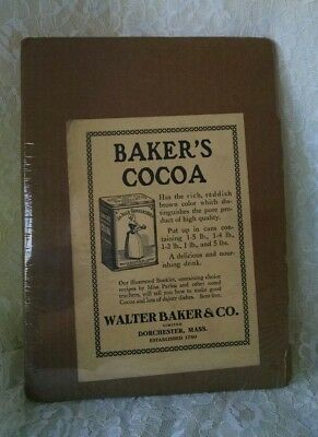 Vintage Walter Baking Ad 1907 Baker & Co Cocoa Advertising 91/2 x 61/2