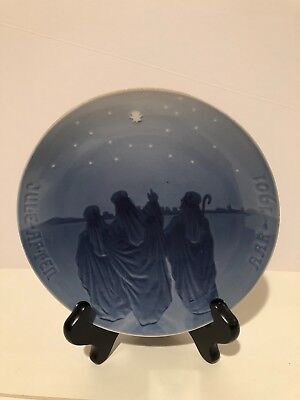 1901 Bing and Grondahl Christmas Plate Wise Men from the East