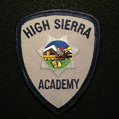 Nevada High Sierra Law Enforcement Academy Patch / Sheriff Police State NV