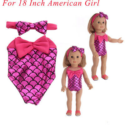 Accessory Dress Toys Doll Clothes Mermaid For 18 Inch American Girl Doll Lot