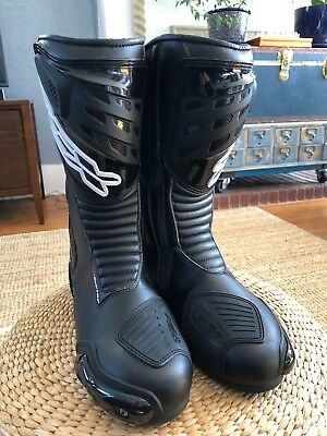 TCX S-SPORTOUR Motorcycle Boots Worn One Time Size 43 Leather Perfect