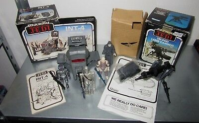 Star Wars Vintage Konvolut Sammlung Figuren Mini Rigs in Original Verpackung TOP