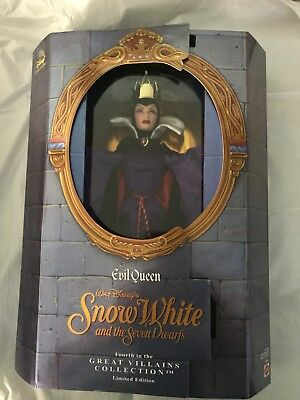Great Villains Collection: Evil Queen from Snow White - Limited Edition MIB NRFB