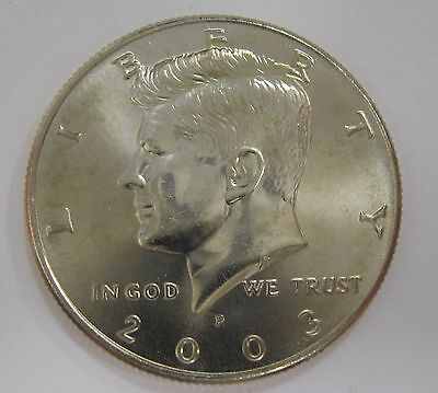 2003-P John F Kennedy Clad Half Dollar Choice BU Condition From Mint Set  DUTCH