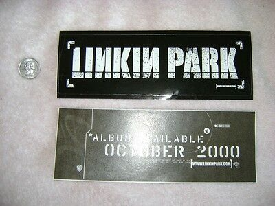 Linkin Park sticker hard rock heavy metal Jay Z new rare promo hot