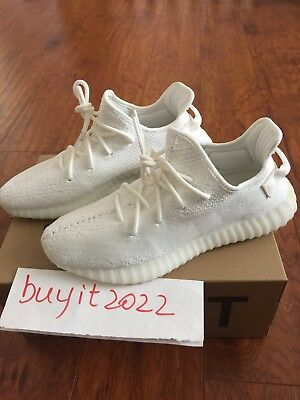6305dbbc0ad3f Brand New Adidas Yeezy Boost 350 V2 Cream White 2018 Edition CP9366 Size  10.5