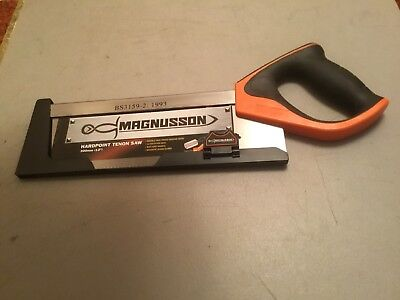 """Magnusson Hardpoint Tenon Saw 300mm (12"""") Pre-owned"""