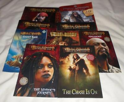 HUGE set of 9 Pirates of the Caribbean picture books