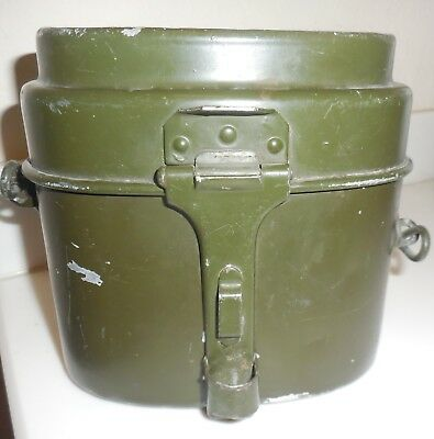 WW2 WWII Vintage German Swiss Mess Kit Canteen marked 1941