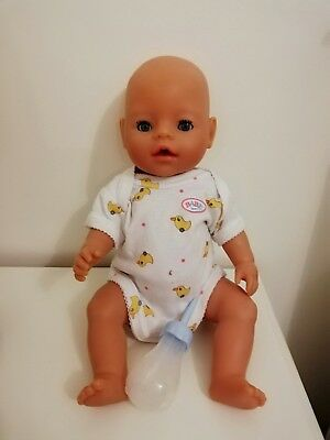 """18"""" Baby Born With Accessories Zapf Creation"""