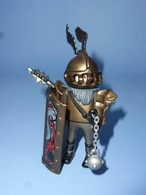 Playmobil Bronze Knight Shield & Weapon - Male Figure for Castle Joust Medieval