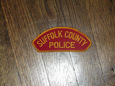 suffolk county police patch, new old stock, 1960's