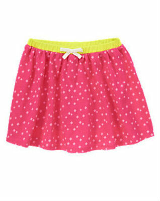 NWT Gymboree Girl BRIGHT IDEAS Pink Knit Skirt  Size 6