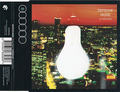 """Depeche Mode """"In Your Room"""" Rare Cd Maxi With Live Tracks / Dave Gahan - Gore"""