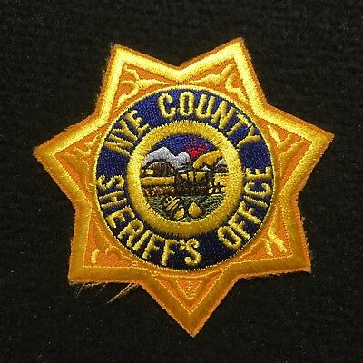 Nevada - Nye County Sheriff's Office Patch
