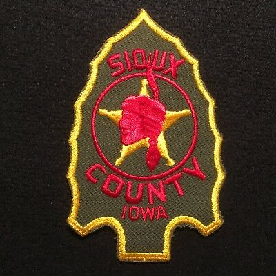 Iowa - Sioux County Sheriff's Department Patch
