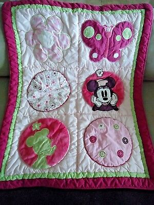 Disney Minnie Mouse Crib Blanket