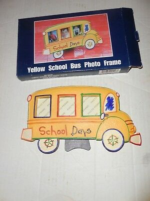 13 Year School Bus Picture Frame 2550 Picclick