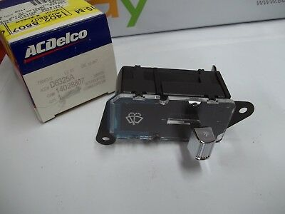 NOS ACDelco D6325A GM 14028807 Windshield Wiper Switch