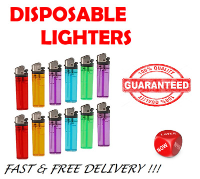 x1 x5 x10 DISPOSABLE LIGHTER CHILD SAFETY ADJUSTABLE FLAME