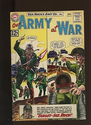 Our Army At War 124 FN 6.0 * 1 Book Lot * DC! Horror! Action! Sgt. Rock! Easy!