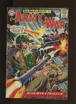 Our Army At War 141 VG/FN 5.0 * 1 Book * DC! Horror! Action! Sgt. Rock! 1964!
