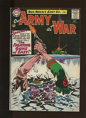 Our Army At War 146 FN+ 6.5 * 1 Book Lot * DC! Horror! Action! 1964! Sgt. Rock!