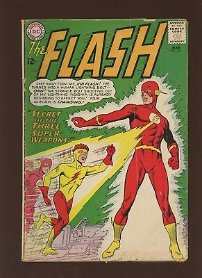 Flash 135 VG/FN 5.0 * 1 Book Lot * DC! 1963! Secret of the Three Super-Weapons
