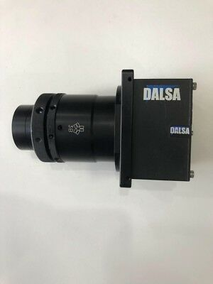 1pcs Used DALSA S3-20-04K40-00-R industrial line camera with lens
