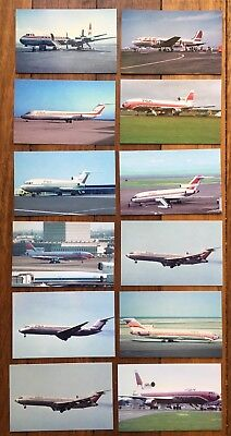 PACIFIC SOUTHWEST AIRLINES - PSA - Aeroplane Airplane Postcards Aircraft Plane
