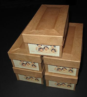 """``♚Replacement Madame Alexander Dionne Quintuplet Boxes For 7"""" Composition Dolls"""