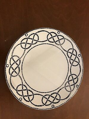 222 Fifth's Nexus Sailor's Knot set of 4 appetizer/dessert plates
