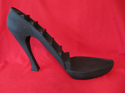 Stiletto High Hill Display Just the Right Shoe Large Black Shoe