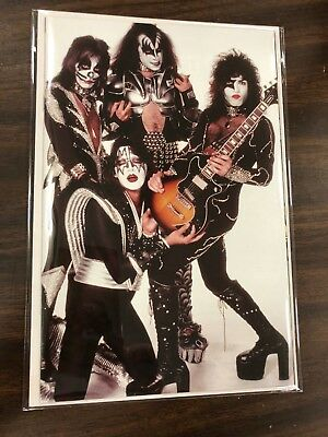 Kiss #5 Virgin Photo Cover Variant