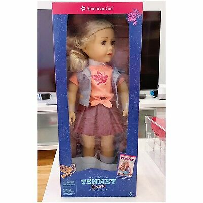 American Girl Tenney Doll with Book 18 Inch Doll DVM11 - New In Box