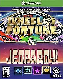 America's Greatest Game Shows Wheel of Fortune & Jeopardy (Xbox One) NEW XB1